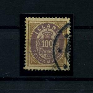 ISLAND 1892 Nr 17A gestempelt (112027)