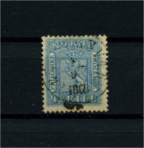 NORWEGEN 1863 Nr 8 gestempelt (112032)