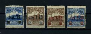SAN MARINO 1924 Nr 105-108 Haftstelle/Falz (112069)
