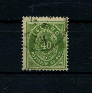 ISLAND 1876 Nr 11A gestempelt (112114)