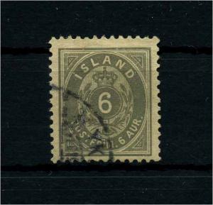 ISLAND 1876 Nr 7B gestempelt (112115)