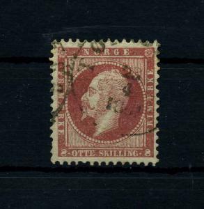 NORWEGEN 1856 Nr 5 gestempelt (112118)