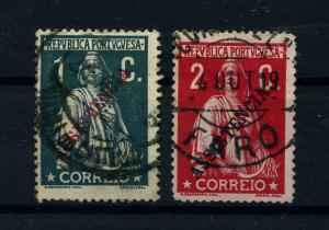 PORTUGAL 1912 Nr ZZM3+4 gestempelt (112148)