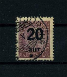ISLAND 1921 Nr 107 gestempelt (112164)