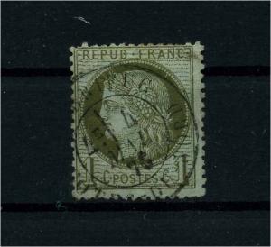 FRANKREICH 1871 Nr 45 gestempelt (112182)