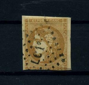 FRANKREICH 1870 Nr 40 gestempelt (112183)