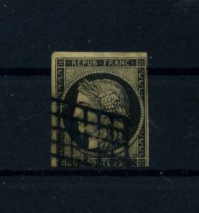 FRANKREICH 1849 Nr 3 gestempelt (112185)