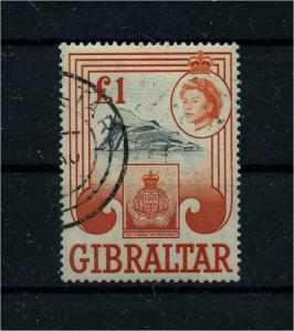 GIBRALTAR 1960 Nr 162 gestempelt (112202)