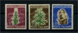 ITALIEN 1950 Nr 802-804 postfrisch (112221)