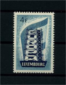 LUXEMBURG 1956 Nr 556 postfrisch (112224)