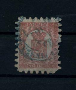 FINNLAND 1856 Nr 9B gestempelt (112230)