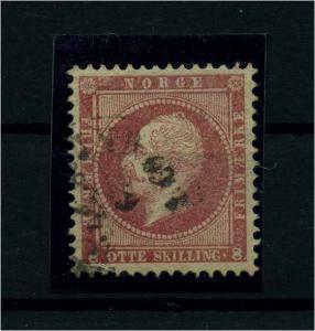 NORWEGEN 1856 Nr 5 gestempelt (112237)
