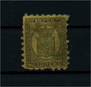 FINNLAND 1856 Nr 7A gestempelt (112239)