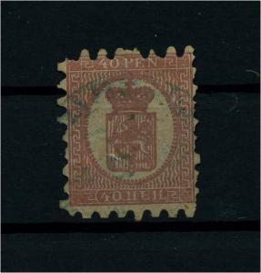FINNLAND 1856 Nr 9B gestempelt (112241)