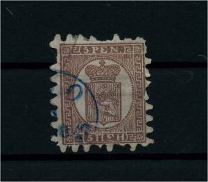 FINNLAND 1856 Nr 5B gestempelt (112250)