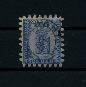 FINNLAND 1856 Nr 8C gestempelt (112252)