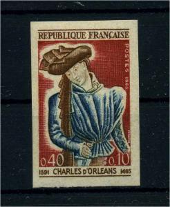 FRANKREICH 1965 Nr 1503 postfrisch (112410)