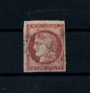 FRANKREICH 1870 Nr 44 gestempelt (112531)