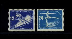 DDR 1950 Nr 246-247 postfrisch (112686)