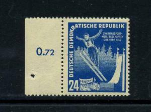 DDR 1951 Nr 299 postfrisch (112707)