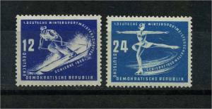 DDR 1950 Nr 246-247 postfrisch (112715)