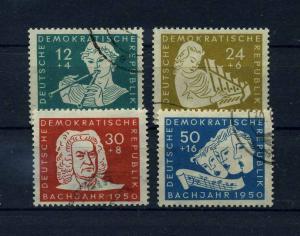 DDR 1950 Nr 256-259 gestempelt (112723)