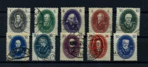 DDR 1950 Nr 261-270 gestempelt (112729)