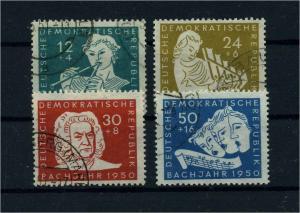 DDR 1950 Nr 256-259 gestempelt (112736)