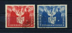 DDR 1951 Nr 284-285 postfrisch (112759)