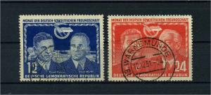 DDR 1951 Nr 296-297 gestempelt (112760)