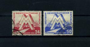 DDR 1951 Nr 282-283 gestempelt (112763)