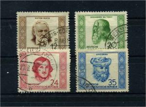 DDR 1952 Nr 311-314 gestempelt (112768)