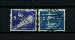 DDR 1950 Nr 246-247 gestempelt (112772)