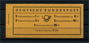 BUND 1958 MH 4YII postfrisch (113004)
