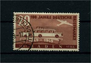 FRZ.ZONE BADEN 1949 Nr 55 gestempelt (113108)