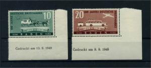 FRZ.ZONE BADEN 1949 Nr 54-55Bru postfrisch (113122)