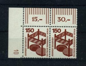 BERLIN 1971 Nr 411 DZ postfrisch (113382)