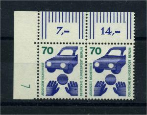 BERLIN 1972 Nr 453 DZ postfrisch (113383)
