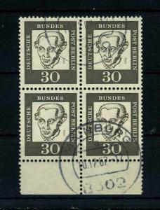 BERLIN 1961 Nr 206 gestempelt (113416)
