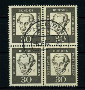 BERLIN 1961 Nr 206 gestempelt (113417)