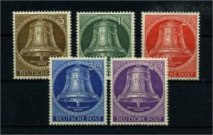 BERLIN 1953 Nr 101-105 postfrisch (113499)