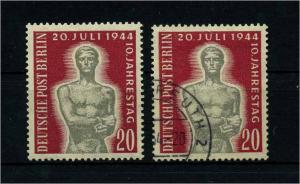 BERLIN 1954 Nr 119 gestempelt (113502)