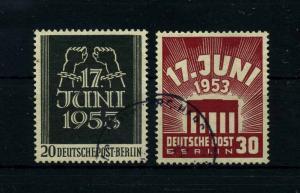 BERLIN 1953 Nr 110-111 gestempelt (113503)
