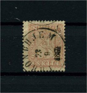 NORWEGEN 1863 Nr 9 gestempelt (113535)