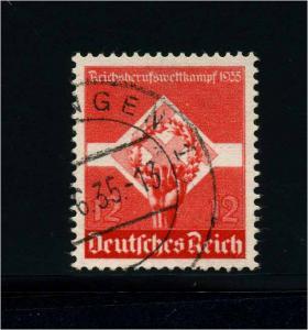 DEUTSCHES REICH 1935 Nr 572y gestempelt (113667)