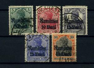 MV IN RUMAENIEN 1918 Nr 8-12 gestempelt (113816)
