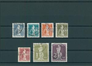 BERLIN 1949 Nr 35-41 gestempelt (200094)