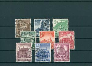DEUTSCHES REICH 1940 Nr 751-759 gestempelt (200242)