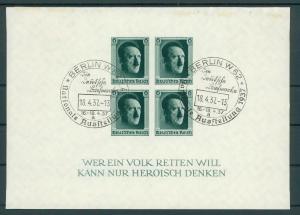 DEUTSCHES REICH 1936 Bl.8 gestempelt (200260)