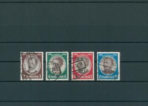 DEUTSCHES REICH 1934 Nr 540-543 gestempelt (200270)